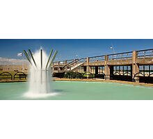 Fountain and the Prom Photographic Print