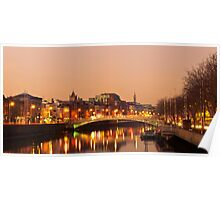 Morning on the Liffey Poster
