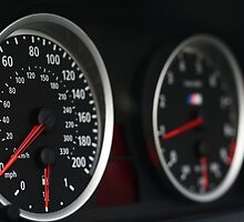 2007 BMW M6 Instrument Cluster by Daniel  Oyvetsky