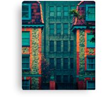 Sandwiched Canvas Print
