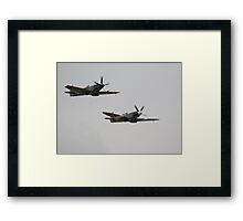 Flying Legends Framed Print