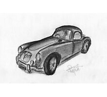 MGA Hard Top - Classic Car Photographic Print