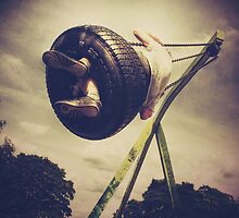 Tyre Swing by Nicola Smith