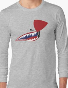 P-40 Flying Tiger Nose Long Sleeve T-Shirt
