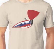 P-40 Flying Tiger Nose Unisex T-Shirt
