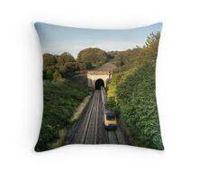 Box Tunnel Throw Pillow