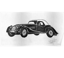 Morgan Roadster - Sports Car Poster