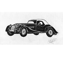 Morgan Roadster - Sports Car Photographic Print