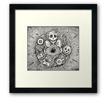 dark halloween  Framed Print
