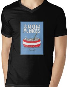 Christmas Jumper (Snow Flakes) Mens V-Neck T-Shirt