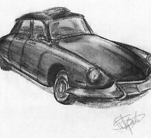Joe's Citroen DS - Classic Car by BigBlue222