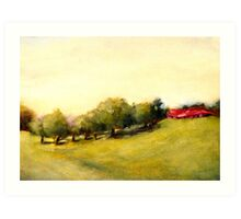 Costa Rica Meadow Art Print
