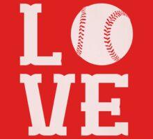 Baseball Love Baby Tee