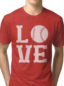 Baseball Love Tri-blend T-Shirt