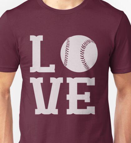 Baseball Love Unisex T-Shirt