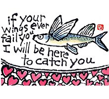 Heart Fish (v.3) Photographic Print