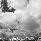 Never Summer Range and Clouds by Gary Lengyel