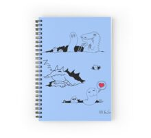 Ripped Monsters Spiral Notebook