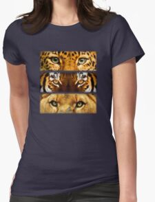 Eyes of Extinction Womens Fitted T-Shirt