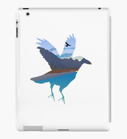 Raven in the valley iPad Case/Skin