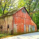 Barn In Town by Sheryl Gerhard