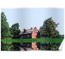 The Old Brick House On the Lake Poster