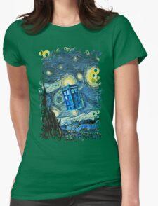 British Blue phone box painting T-Shirt