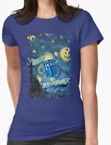 British Blue phone box painting T-Shirt