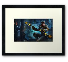 Steel Legion Lux - League of Legends Framed Print