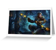 Steel Legion Lux - League of Legends Greeting Card