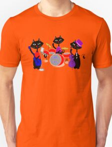 Cool For Cats Music Themed Unisex T-Shirt