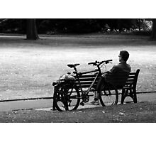 A Rest In the Park Photographic Print