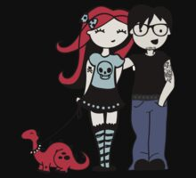 Emo Love Kids Clothes