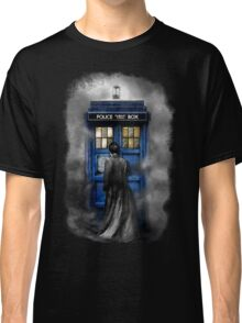 Mysterious Time traveller with Black suit Classic T-Shirt