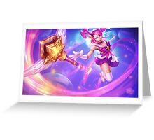 Star Guardian Lux - League of Legends Greeting Card
