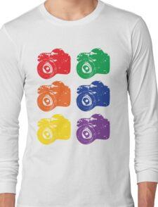 ROYGBV Camera Long Sleeve T-Shirt