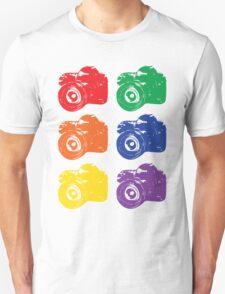 ROYGBV Camera T-Shirt