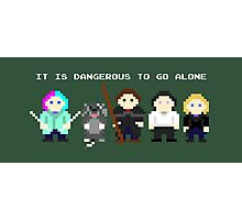 Team Dresden: It is dangerous to go alone Photographic Print