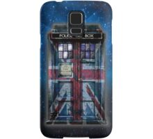 British Union Jack Space And Time traveller Samsung Galaxy Case/Skin