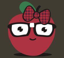 Nerdy Apple (girl) by Amy Grace