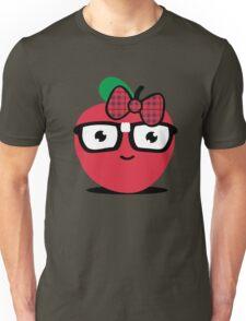 Nerdy Apple (girl) Unisex T-Shirt