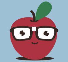 Nerdy Apple (boy) Kids Tee