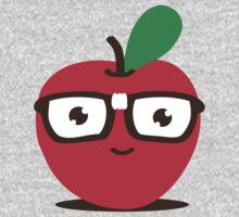 Nerdy Apple (boy) One Piece - Long Sleeve