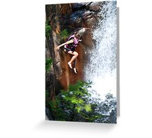 Smalls Falls Leap of Faith #2 Greeting Card