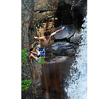 Smalls Falls Leap of Faith #3 Photographic Print
