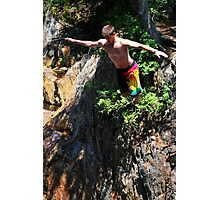 Smalls Falls Leap of Faith #4 Photographic Print