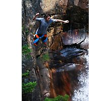 Smalls Falls Leap of Faith #7 Photographic Print