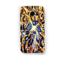 Big Bang Attack Exploded Flamed Phone booth painting Samsung Galaxy Case/Skin