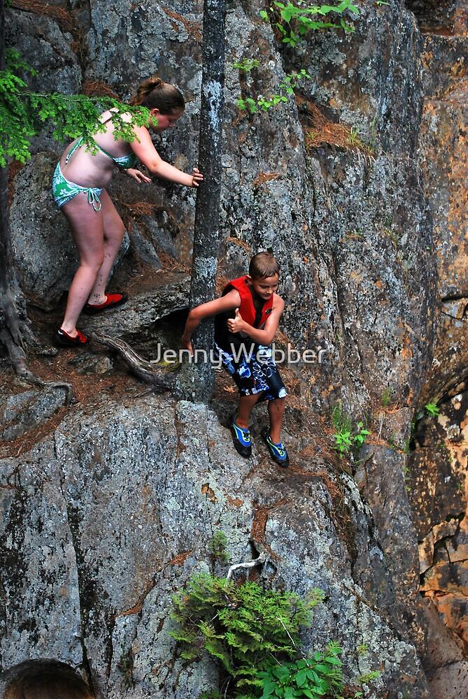 Smalls Falls Leap of Faith #10 by Jenny Webber