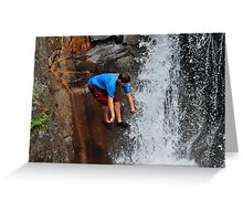 Smalls Falls Leap of Faith #11 Greeting Card